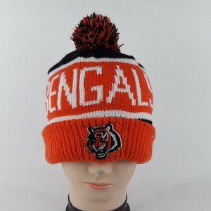 NFL '47 Cincinnati Bengals Calgary Knit Cuffed Pom